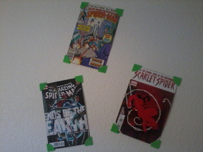 Comic Book wall mounts
