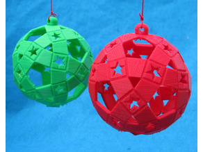 Holiday Ornament with Stars