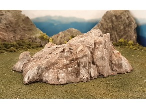 3D scanned Kitzbühel rock