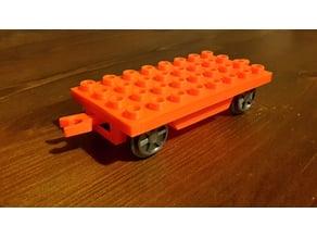 Duplo compatible fully printable train wagon