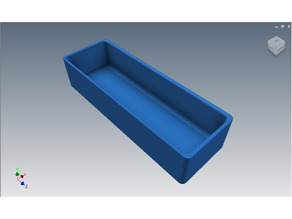 Toolbox Tidy Single - 165x55x35