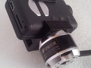 Mobius mount for gimbal- suitable for 20mm interaxis mount motor
