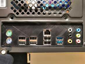 ASRock 970 Pro3 I/O shield (IO backplate)