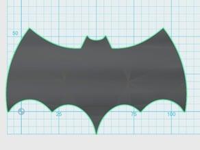 Batman Classic TV Series Logo with no background