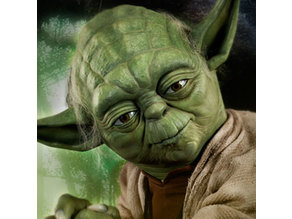 Yoda Lithophane