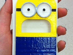 Minion Iphone 4S Case (+ earphone holder)