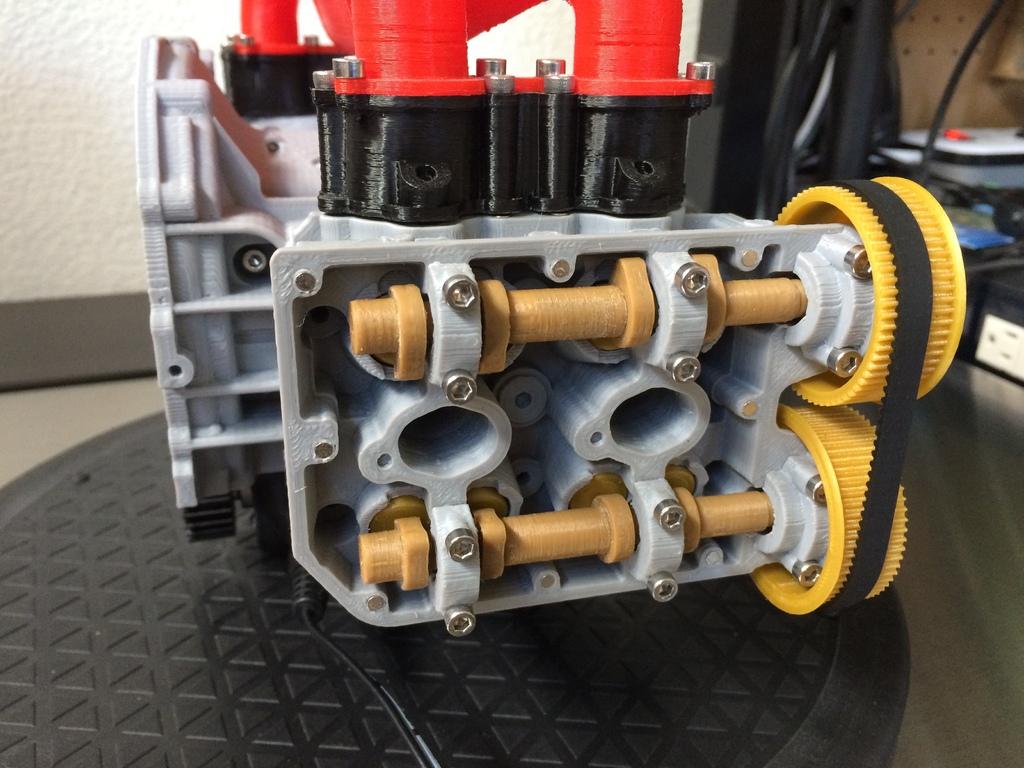 Subaru WRX EJ20 Boxer Engine Model - Fully Functioning by