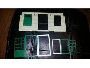 Playmobil 1976 Western building (3422, 3423, 3424 etc.) door frame