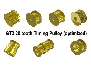 GT2 20 tooth Timing Pulley (optimized)