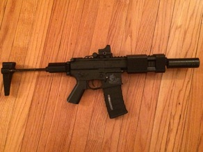 airsoft PDW / M4 stock