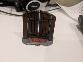 Base for Workable Doors