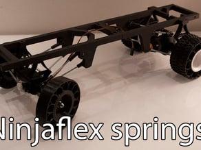Printed truck V2: Ninjaflex springs
