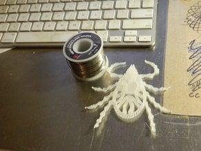 Tick arachnid