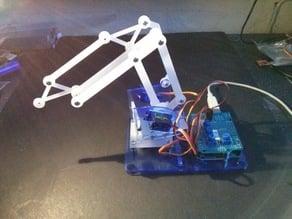 MeArm - Version 0.1 - Ultra Cheap Robot Arm