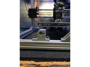 Shortened 8mm  SK8 Guide Rod Clamp for 2020  FolgerTech Prusa i3 2020
