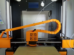 ANET A6 CARRIAGE HIDE + CABLE CHAINE