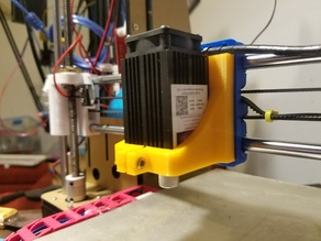 Laser Mount for Prusa i3 Rework X Carriage
