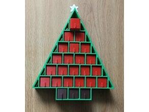 Simple Advent Calendar With Star