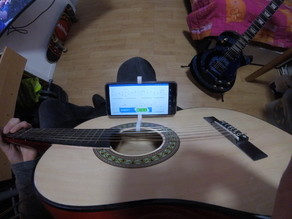 Smartphone Holder For Acoustic Guitar
