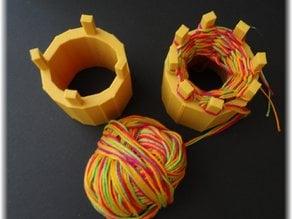 Knitting spools