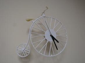 Bike clock.