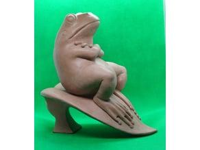 Ленивая лягушка