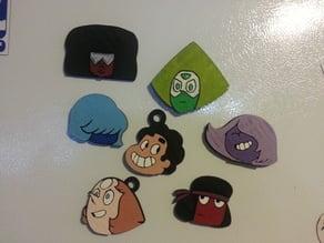Steven Universe Character Heads