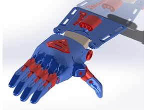 e-NABLE Phoenix Hand v2 - Superman