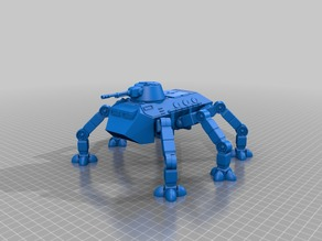 Alternative leg parts for Ant WAPC sci-fi walking troop transport for 28mm sci-fi wargames or sci-fi mdel making