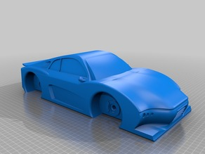 Prototype car (from a picture)