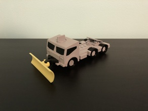 M.A.X. Truck - The Modular Toy Truck - Snow Plow Mission Accessory