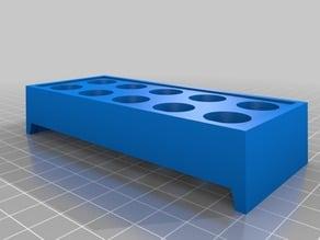 Better Customizable ER Collets Bench Rack