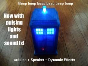 TARDIS with Light and Sound FX
