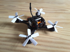 Mini Racer Dquad 120mm 3S Polycarbonate  With Micro Swift RunCam
