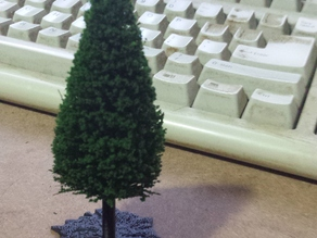 Model Train Tree Base (H0)