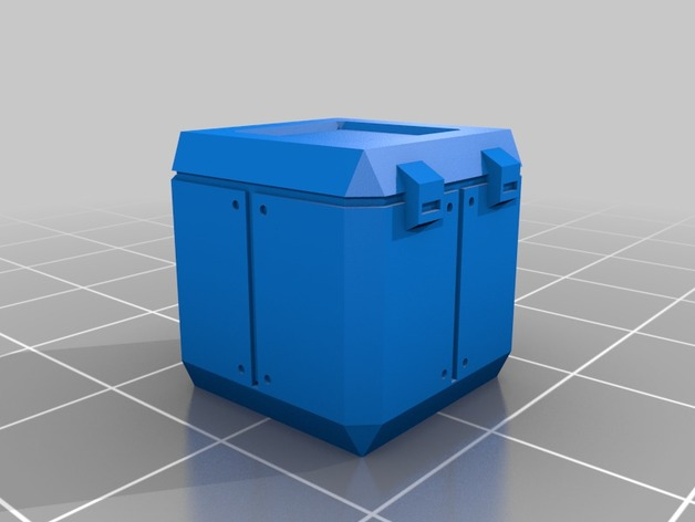Sci Fi Storage Boxes Scatter Terrain 5 Types By Lord
