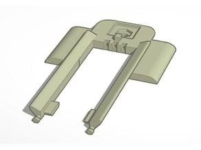 Mavick Pro transporter clamp
