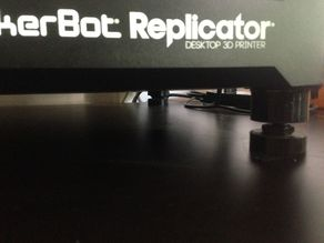 Adjustable Feet for Makerbot Replicator 5G