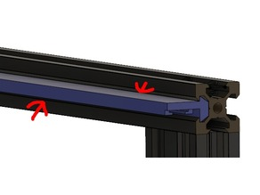Ender 3/2020 Extrusion Light Bar