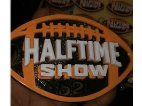 Official Super Bowl 52 Halftime Show Keychain