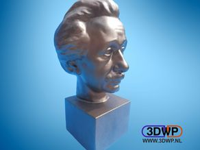 Albert Einstein Bust 3D Scan
