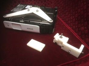 Epson projector mount with quick release