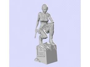 Lara croft - Tomb Raider [Fixed for 3D printing]