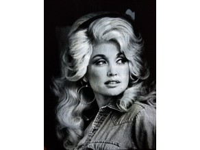 Dolly Parton Lithophane