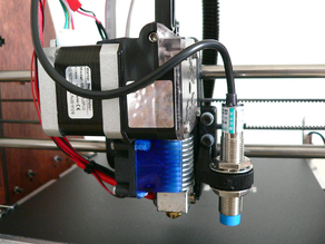 E3D Titan Extruder w/ 12-18mm Sensor and BLTouch Mounts for Prusa i3