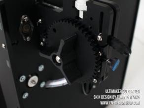 Ultimaker Extruder Gear Grip
