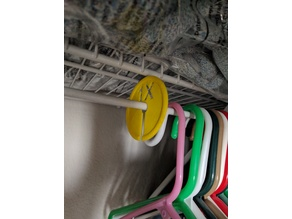 Wire closet organizer