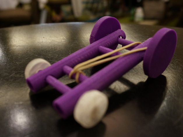 Rubberband Car 3d Design And Discovery Learning Project By