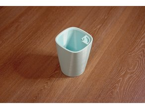 Mini-Catini flower pot with irrigation