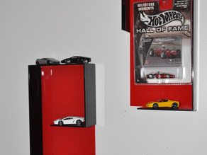 Hot Wheels car holder displays